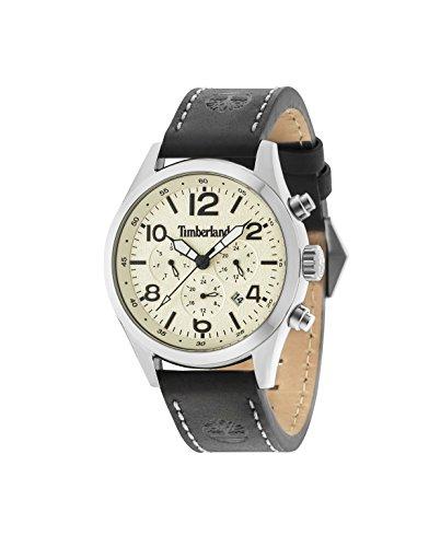 Timberland - Multiesfera - Montre pour homme en quartz avec bracelet cuir 15249JS/07