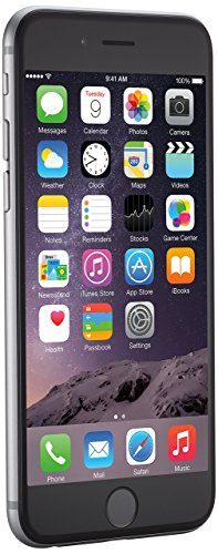 Apple iPhone 6 Spatial Gray Spatial Gris 16 Go Smartphone gratuit (remis à neuf)