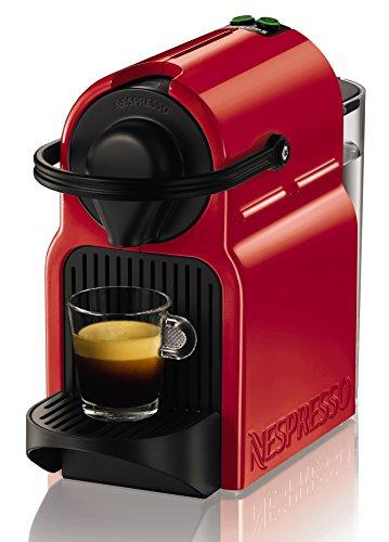 Nespresso Krups Inissia XN1005 - Cafetière Nespresso à capsule monodose, 19 bar, arrêt automatique, couleur rouge