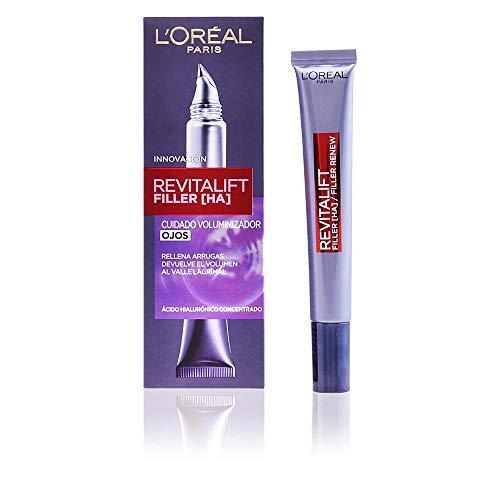 L'Oréal Paris Dermo Expertise, Combleur Contour des Yeux Revitalift et Acide Hyaluronique, 15 ml