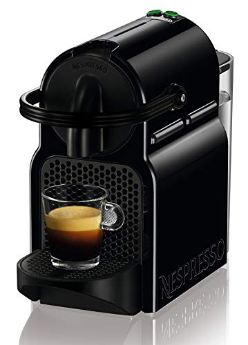 Nespresso De'Longhi Inissia EN80.B - Cafetière Nespresso à capsule monodose, 19 bar, arrêt automatique, couleur noir