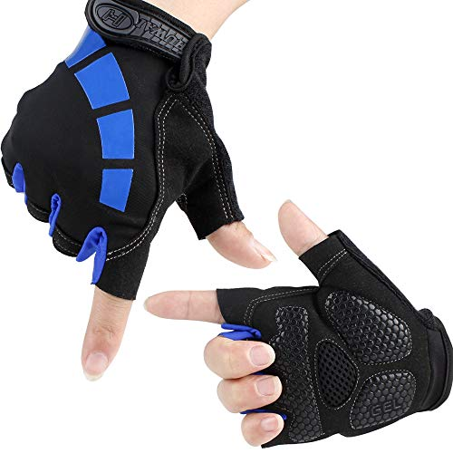 Eastshining Gants Gym Gants Homme Gants Fitness Gants Femme Fitness Gants (M)
