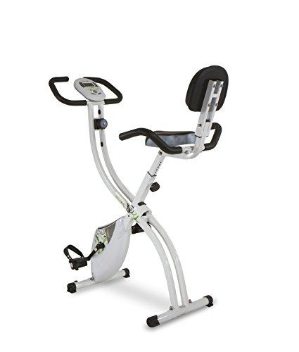 Tecnovita by BH Back Fit - Vélo d'exercice pliable, unisexe adulte, couleur Blanc / Vert, Taille unique