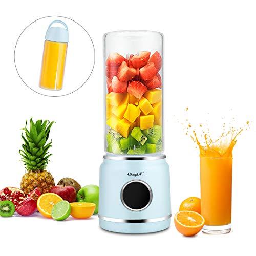 HS Onsing Portable Blender, Single-Cup Blender USB Rechargeable, Fruit Mixer-Adapt pour fruits et légumes, pour faire des jus de fruits / Batidos / Milkshake / Smoothies Etc.