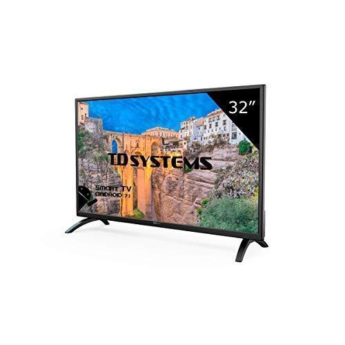TD Systems K32DLM8HS - Téléviseur 32 pouces HD à DEL intelligente, résolution 1366 x 768, 3X HDMI, VGA, 2X USB, TV intelligente