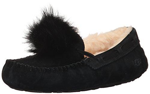 UGG Dakota Pom Pom Pom Pom Pom Femmes Chaussures de course Noir