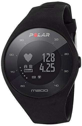 9488bac45 Polar M200 - Reloj de Carrera con GPS y frecuencia cardíaca en la muñeca,  Color
