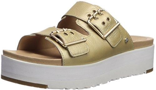 UGG Cammie Chaussures Sandales en cuir Sandales Femmes Or 39 Or