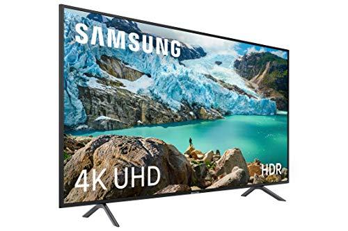 Samsung 4K UHD 2019 65RU7105 65RU7105 - 65' Smart TV avec résolution 4K UHD, Ultra Dimming, HDR (HDR10+), processeur 4K, une expérience à distance, applications exclusives et compatibles Alexa