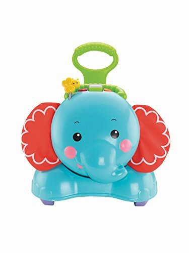 Fisher-Price - Eléphant 3 en 1 (Mattel CBN62)