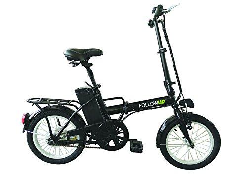 FOLLOW UP E05 Vélo électrique pliable pour adultes, couleur noir