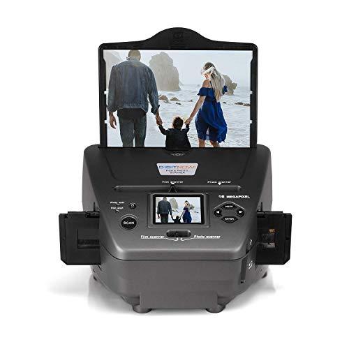 Numériseur haute résolution de 16 Mpx pour négatifs et diapositives 35 mm et photos