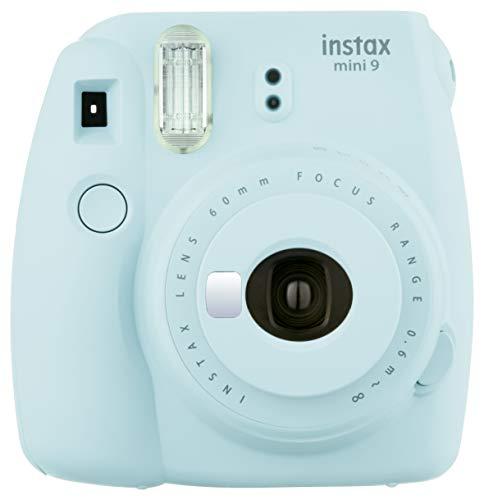 Fujifilm Instax Mini 9 - Caméra instantanée, Caméra vidéo 1x10, Bleu