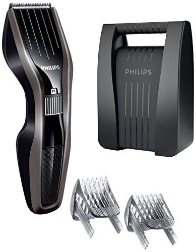 Philips 5000 Series HC5450/80 - Tondeuse à cheveux, réglage fin tous les 0,5mm pour le style désiré, utilisation pendant 90minutes, étui de transport inclus
