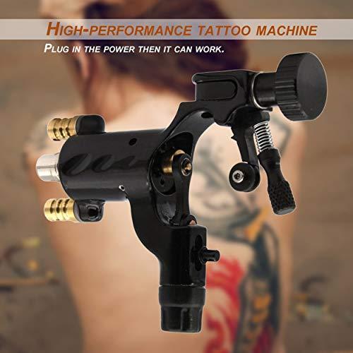 Lorenlli Dragonfly Machine à tatouer rotative Dragonfly Shader et liner professionnel Moteur électrique conçu pour l'art corporel