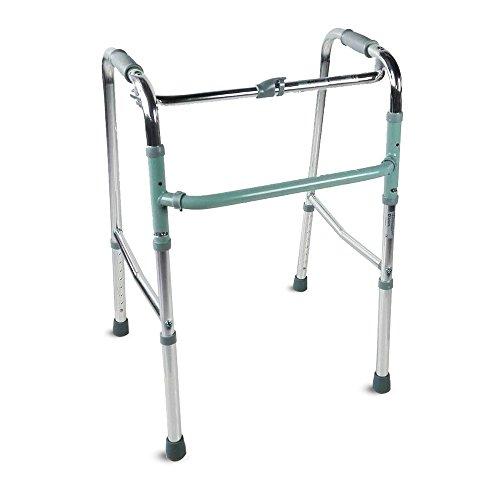 Marchette pour adultes | Aluminium | Pliable | Sans roulettes | Colonne | Mobiclinic