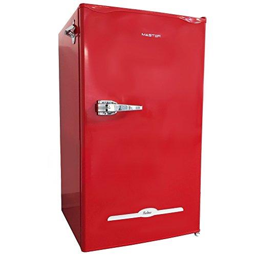 Réfrigérateur et congélateur Master Class90 Séparé Rouge 100 L A+ - Réfrigérateur (100 L, A+, Rouge)