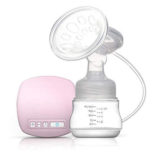 Decdeal - tire-lait électrique rechargeable avec coussin de massage pour l'allaitement, sans BPA, rose