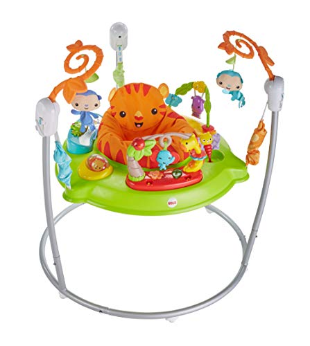 Fisher-Price Jumper animaux de la jungle, pour bébé +1 an (Mattel CHM91)