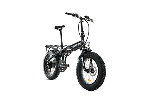 Vélos Tucano Monster HB Electric Folding Bike, Gris (Anthracite), Taille Unique