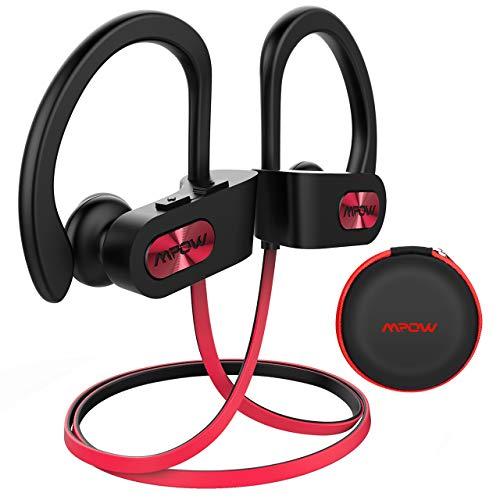 61fd906bbc7 Mpow Auriculares Bluetooth Deportivos, Flame V4.1 Impermeable IPX7 In-Ear Cascos  Inalámbricos