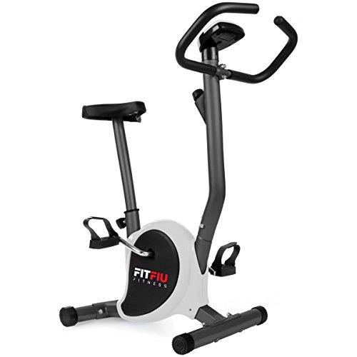 Fitfiu BEST-100 Vélo d'exercice pliable, gris, S