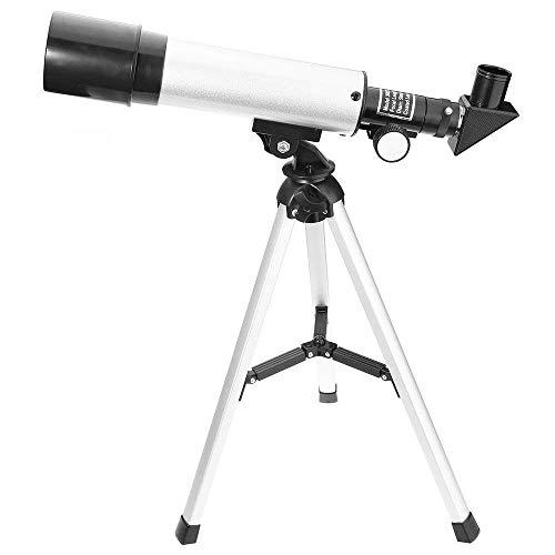 Télescope astronomique Zoom HD Télescope monoculaire avec trépied 360/50 mm pour enfants Débutants - Ranipobo