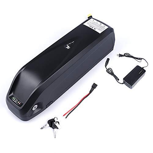 Junstar Ebike - Batterie au lithium pour vélo électrique Ebike (48 V, 17,5 AH, batterie au lithium avec chargeur et prise USB)