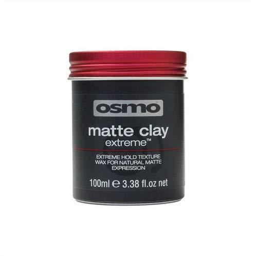 Osmo - Cire capillaire mate extrême haute tenue pour coiffure (argile mate, 100 ml)