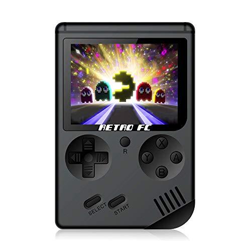 CXYP console de jeu portable, 3 pouces console de jeu portable Console de jeu HD Screen Retro Console de jeu avec 168 jeux TV Out Game Player Game Console Classic Jeux pour le cadeau pour les enfants