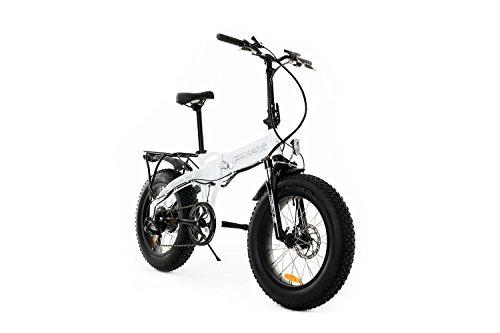 Vélos Tucano Monster HB Vélo pliant électrique, Blanc (Benz), Taille Unique