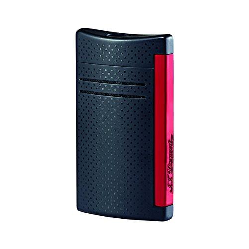S.T. Dupont Maxijet - Briquet, noir mat/rouge mat