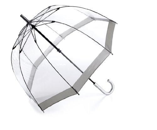 Fulton Birdcage - Parapluie transparent gris