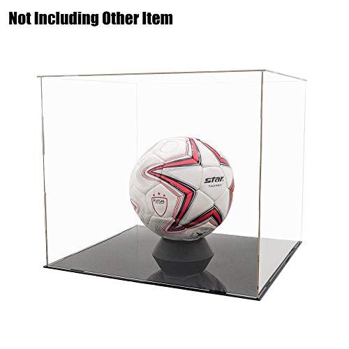 Tingacraft - Vitrine en acrylique 400 x 365 x 350 mm pour figurines bottes de football