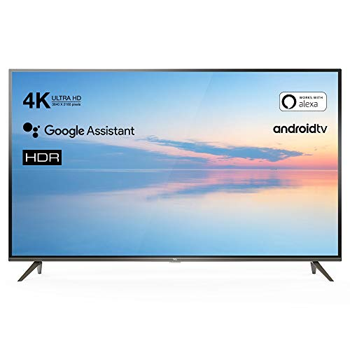 TCL 43EP640 TV TV 108 cm (43 pouces) Smart TV (4K UHD, HDR10, Micro Dimming Pro, Android TV, Alexa, Google Assistant)