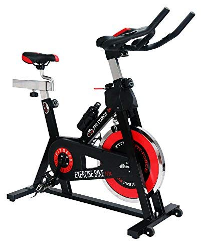 Fit-Force Bici Volant d'inertie de 24 kg en rotation