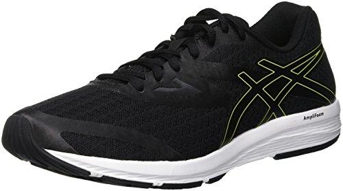 Amplica Asics, Chaussures d'entraînement pour hommes, noires (Noir/rose Neon Lime 001), 44.5 EU