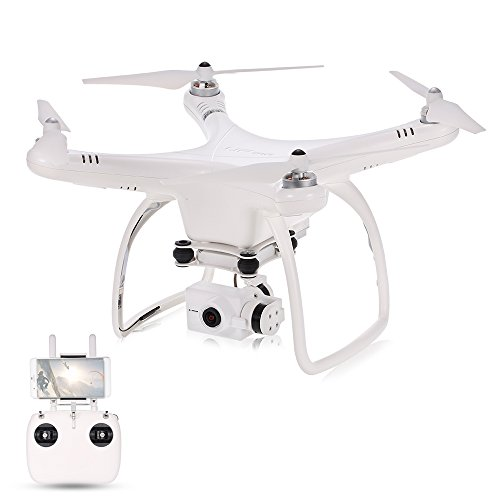 UPair One Plus 4K Drone avec caméra 16MP Quadcopter 5.8G FPV Quadcopter 2-Axis Gimbal Photographie Aérienne Hélicoptère GPS professionnel RTF