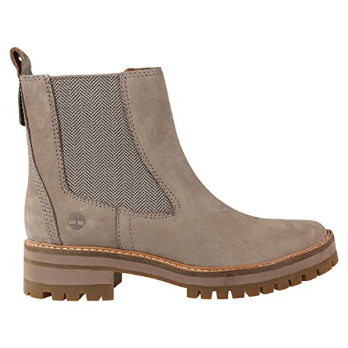 Timberland Femme Taupe Courmayeur Valley Bottes Chelsea-UK 5