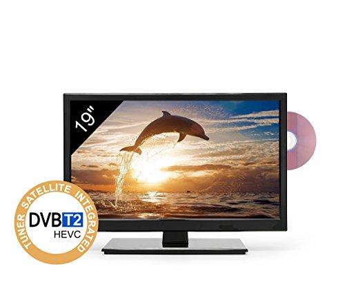 TV HD 19' pour camping-car - DVD/USB - LED