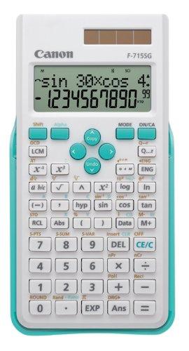 Calculatrice scientifique Canon F-715SG bleu et blanc