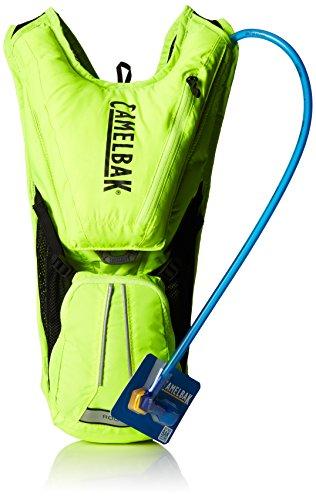 CamelBak - Sac à dos hydratant pour courir ou faire du vélo, couleur vert, 40 x 26 x 15 cm