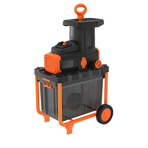 BLACK+DECKER BEGAS5800 - Broyeur électrique Bio 2800W, 45 Litres