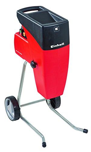 Einhell 3430620 Silent Electric Bio Shredder, 2000 W, 220 V, noir, rouge