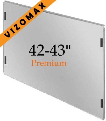 Protecteur d'écran 42-43 pouces Vizomax pour TVHD plasma LCD. Protecteur d'écran TV Protecteur d'écran Bouclier de protection