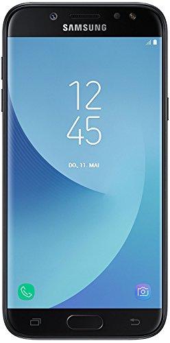 Samsung Galaxy J5 (2017) - Smartphone 5,2'' (Double carte SIM, 4G, 16 Go, 1280 x 720 pixels, plat, SAMOLED, 16 millions de couleurs, 16:9), noir (version import)