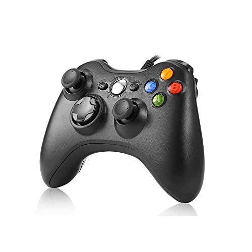 JAMSWALL Xbox 360 Manette de manette de manette de jeu, manette de manette USB Xbox 360 Compatible pour Windows XP/7/7/8/10