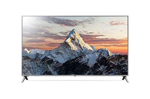 LG 86UK6500 - TV LED Ultra HD (4K, diagonale de 85', intelligence artificielle, processeur Quad Core, 3xHDR, son surround, résolution 3840 x 2160, 4x HDMI, 3x USB) écran couleur gris