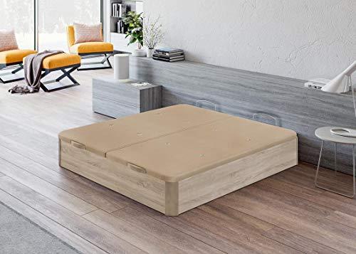 Santino Canapé en bois de grande capacité cambrien 180x200 cm avec montage à domicile gratuit