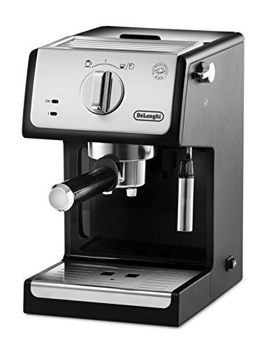 De'longhi ECP33.21 - Cafetière expresso, 1100w, capacité 1,1l, café moulu et dose unique, noir et argent
